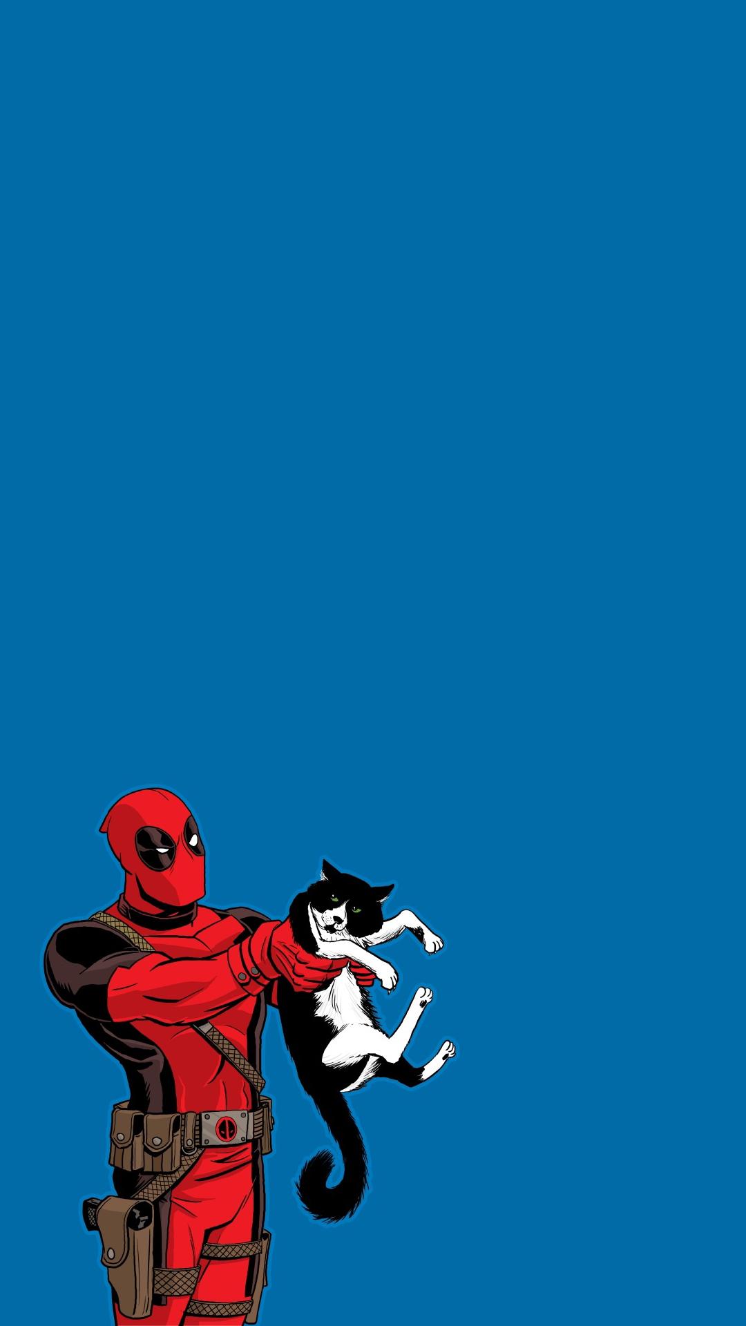 Deadpool Kitten Iphone Wallpaper Hd