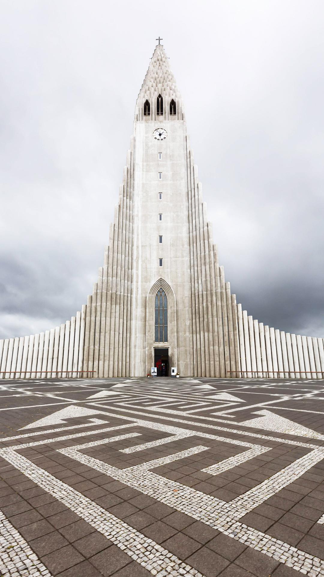 Iceland hallgrimskirkja iphone wallpaper hd - Iceland iphone wallpaper ...