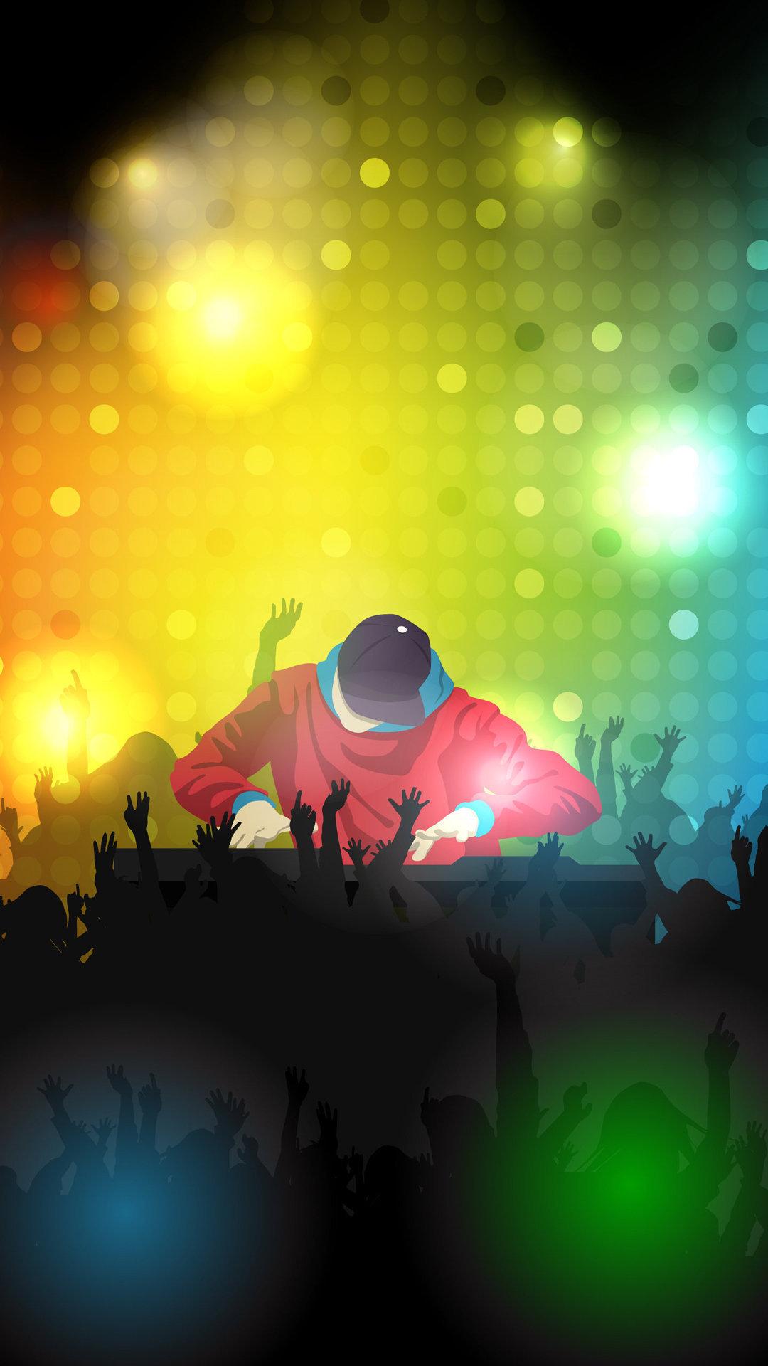 Club DJ iPhone Wallpaper HD