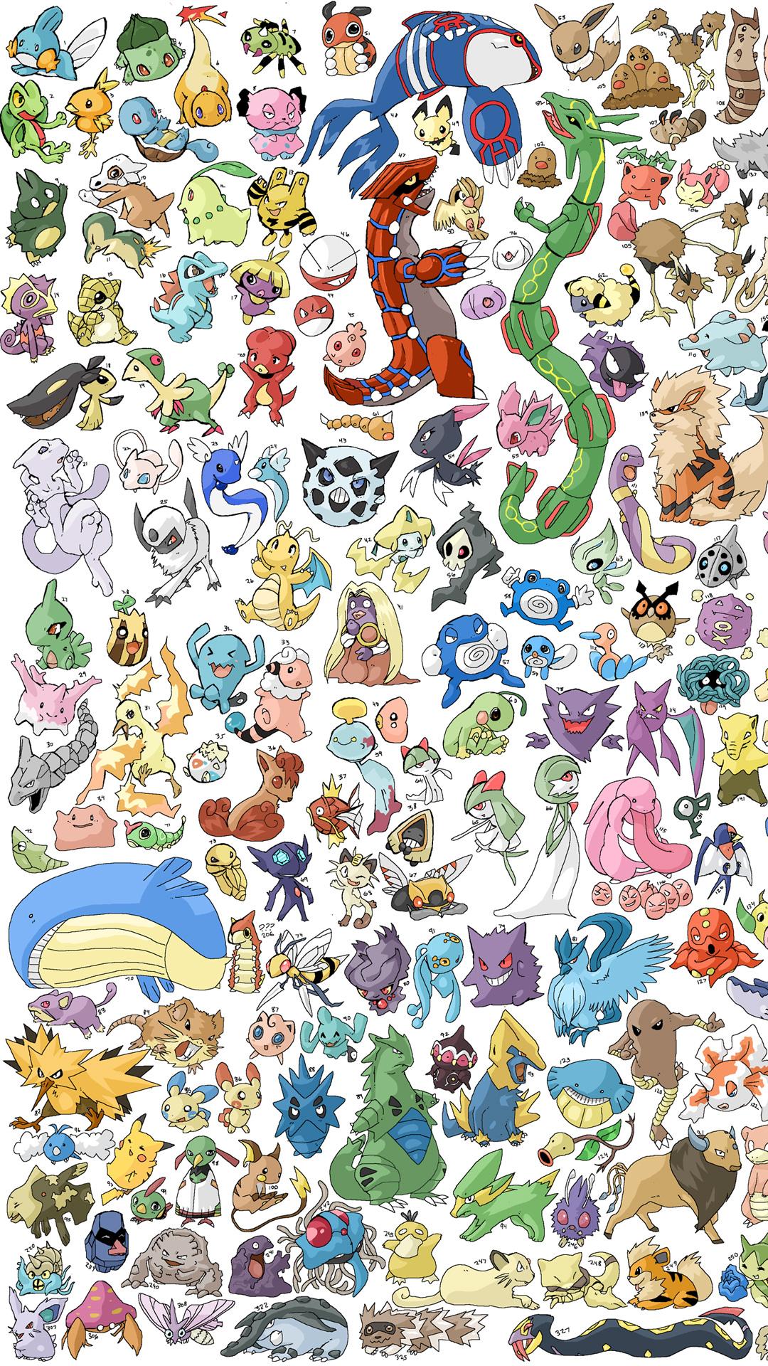 Pokemon Pattern Iphone Wallpaper Hd