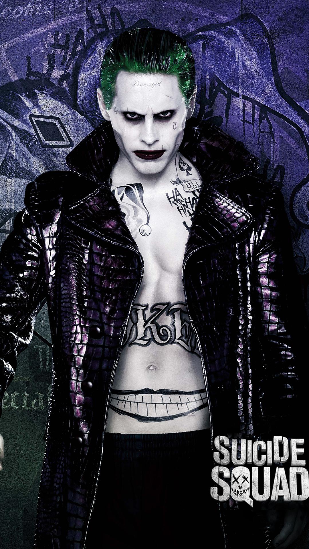Joker Suicide Squad Iphone Wallpaper Hd