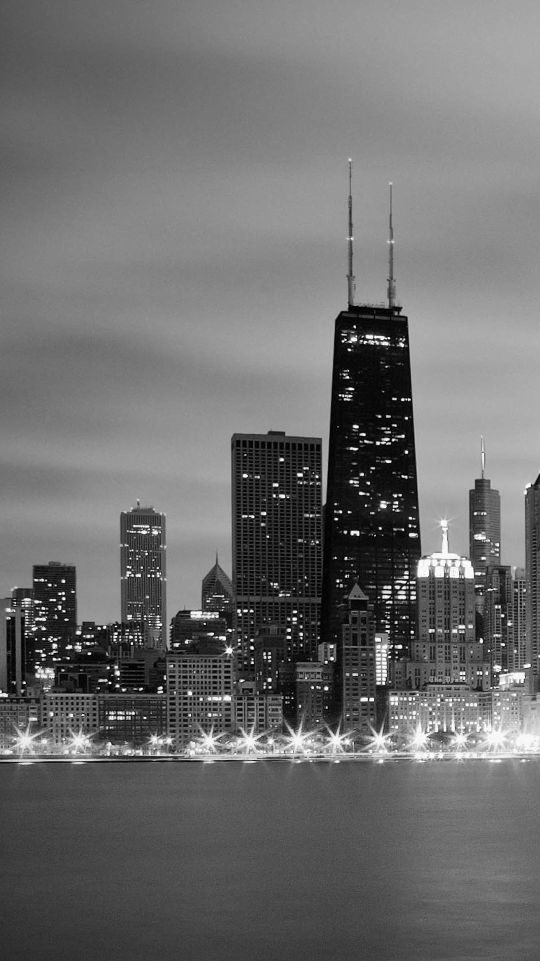 Chicago Skyline Iphone Wallpaper Hd