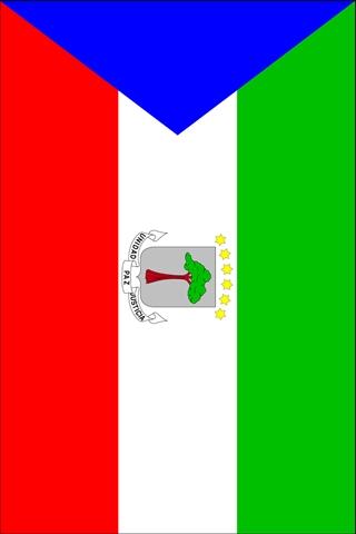 Equatorial Guinea Flag