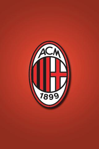 AC Milan iPhone Wallpaper