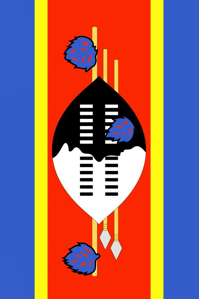Swaziland Flag Wallpaper