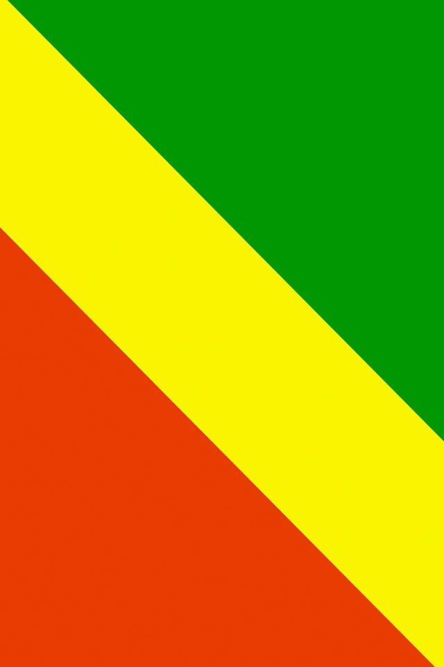 Republic of the Congo Flag Wallpaper