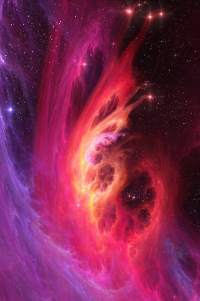 Galaxy Blast Wallpaper