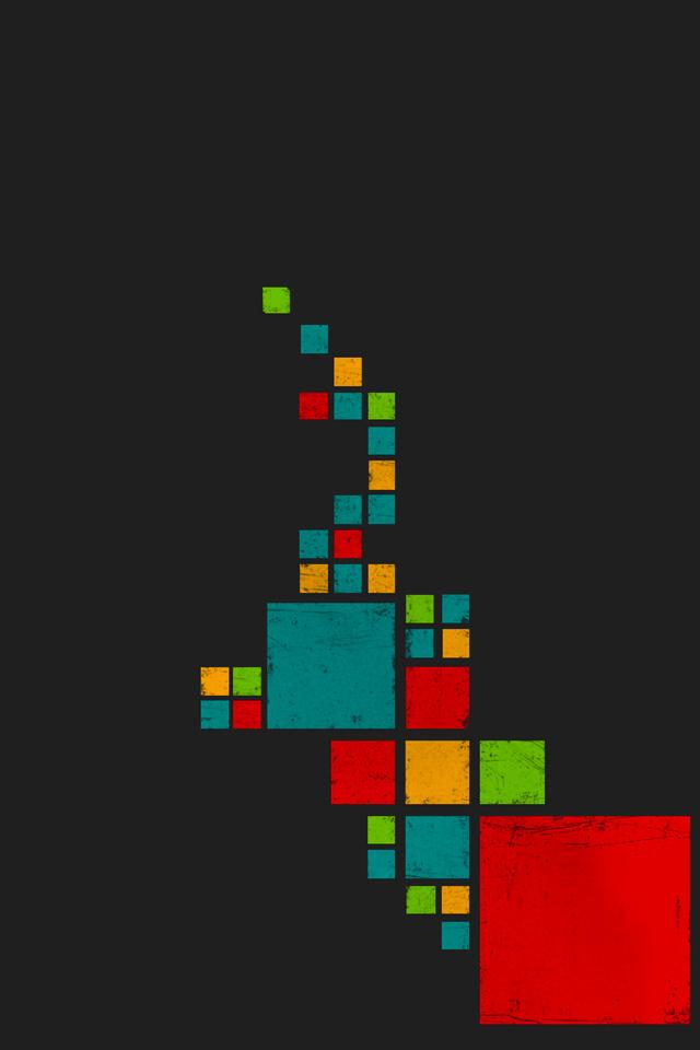 Squares on Squares Wallpaper
