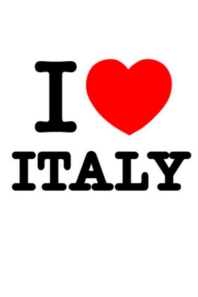 I Love Italy Wallpaper