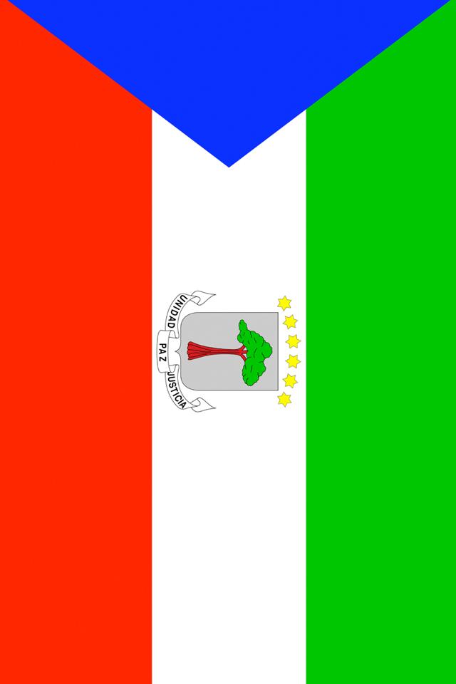 Equatorial Guinea Flag Wallpaper