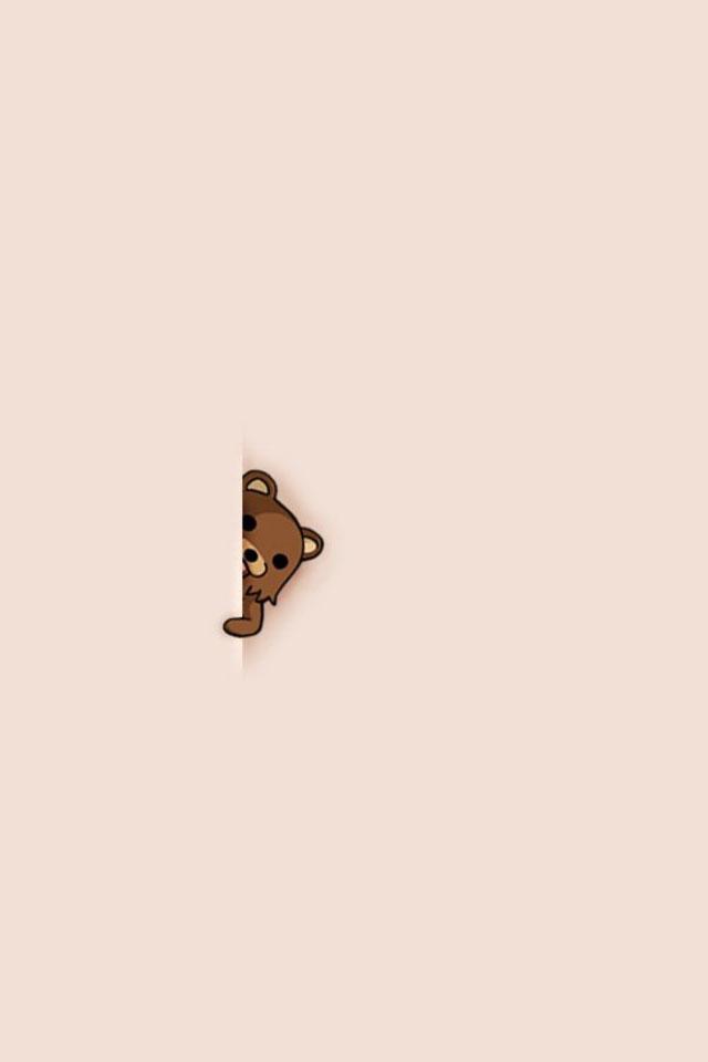 Sneaky Bear Wallpaper