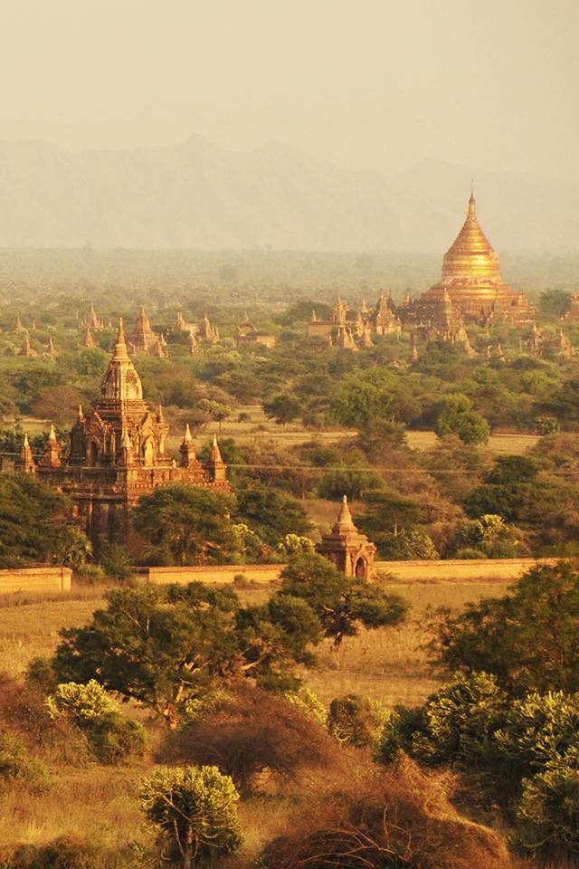 Bagan Temples Wallpaper