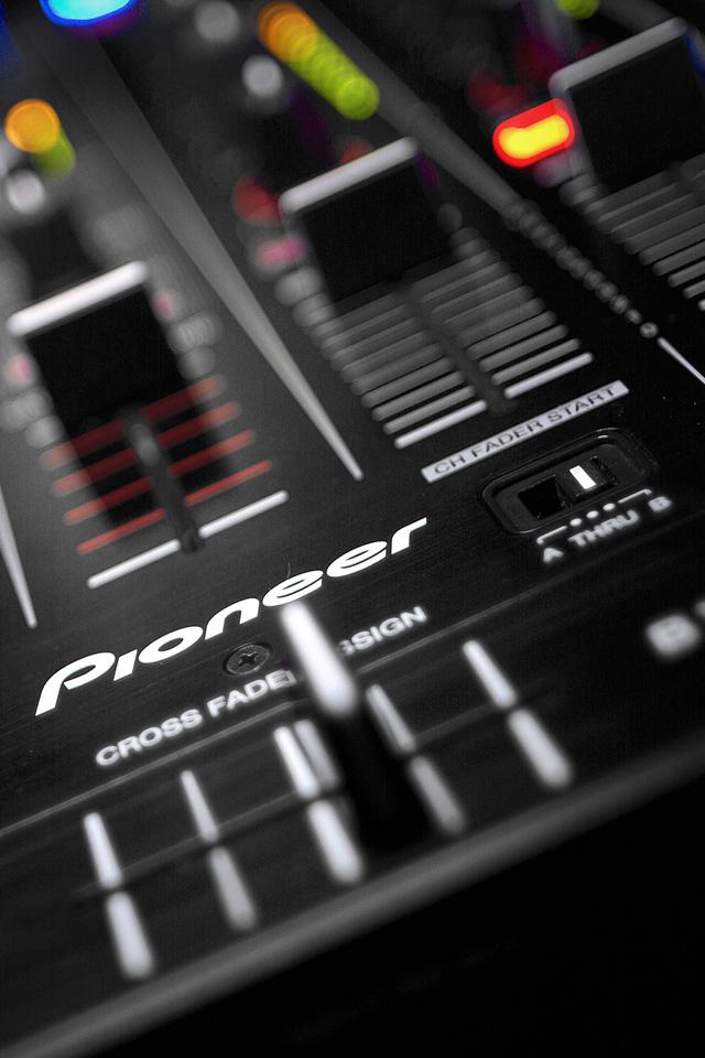 DJ Mixer Wallpaper