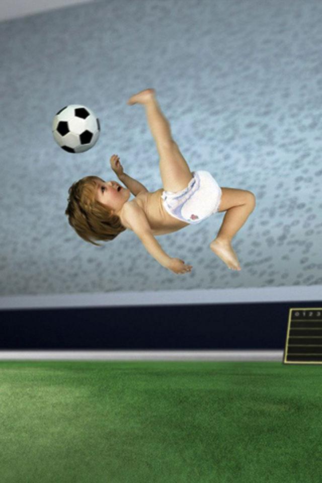 Football Baby Wallpaper