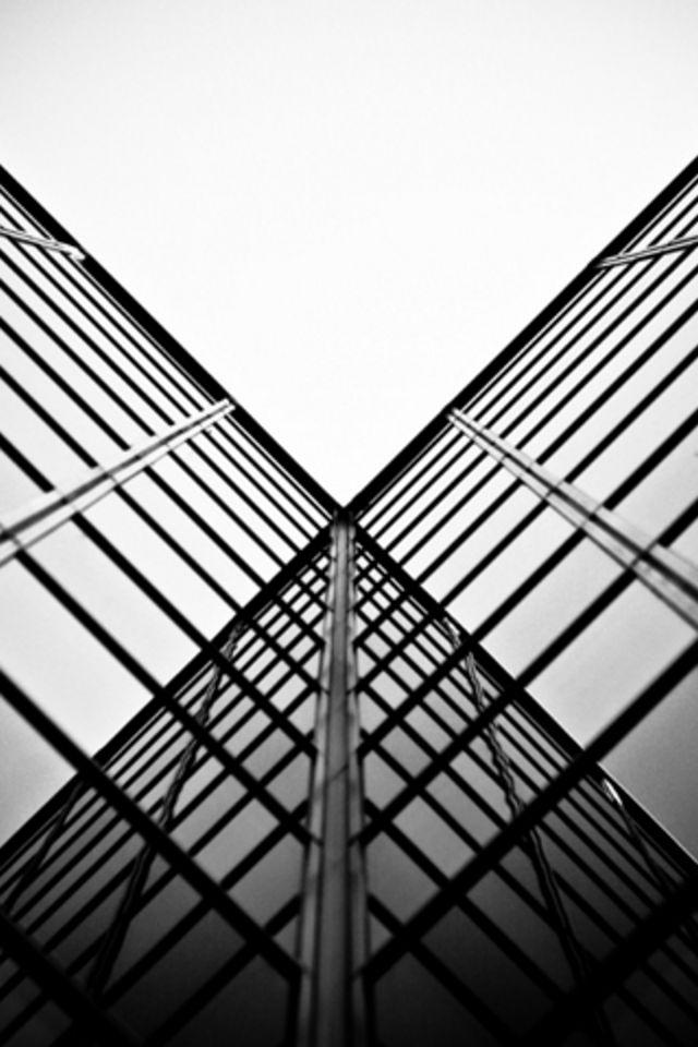 Glass Reflection Wallpaper