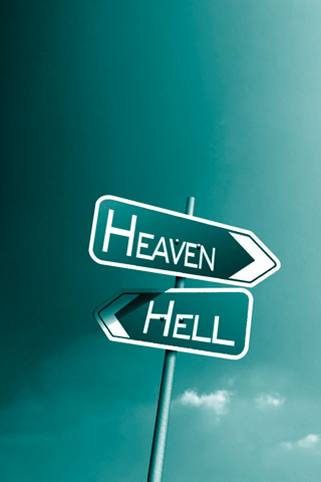Heaven or Hell Wallpaper