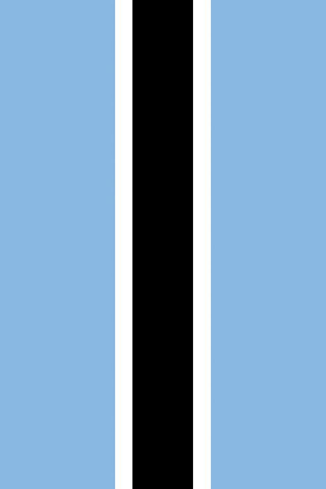 Botswana Flag Wallpaper