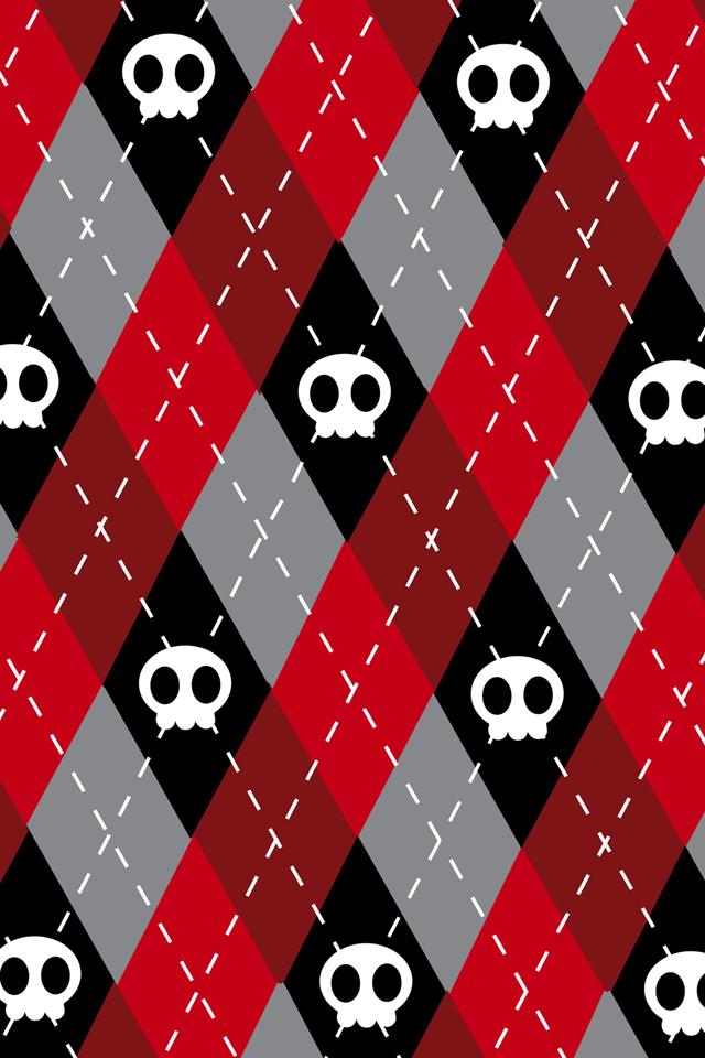 Cute Skull Wallpaper