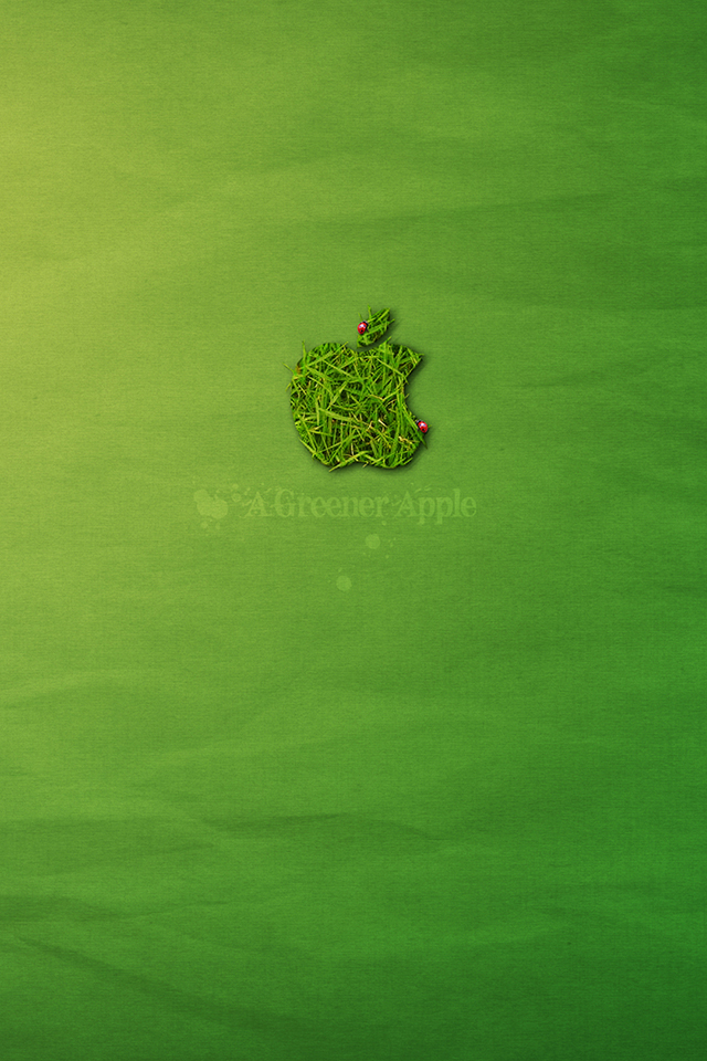 Greener Apple Wallpaper
