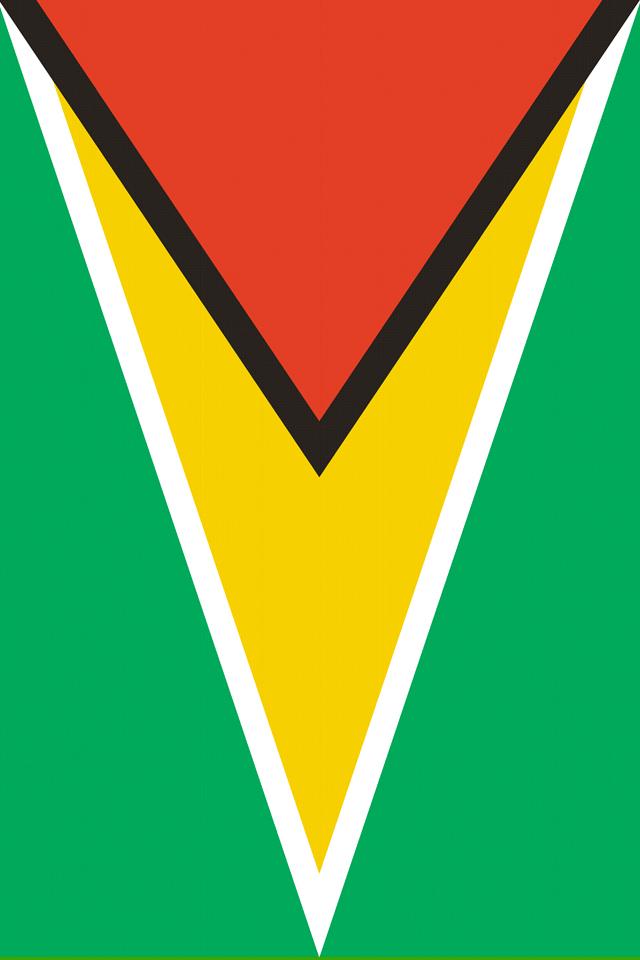 Guyana Flag Wallpaper