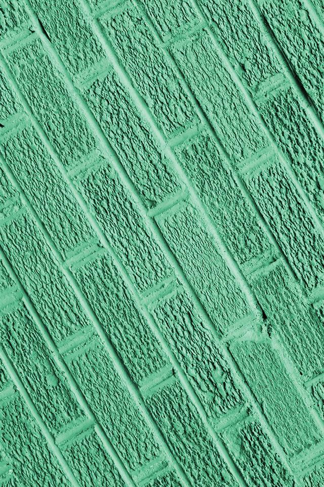 Green Bricks Wallpaper