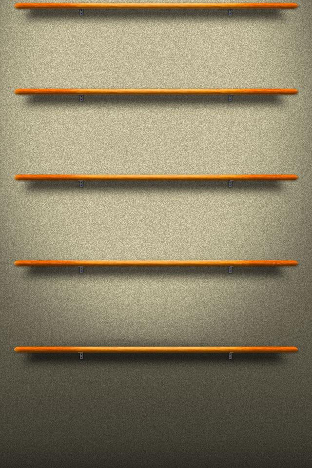 Wooden Shelf Wallpaper