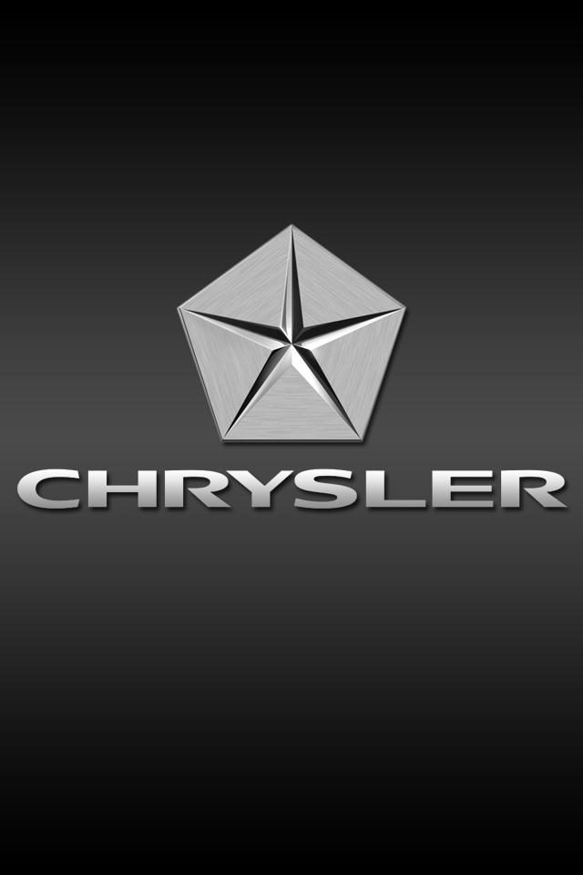 Chrysler Logo Iphone Wallpaper Hd