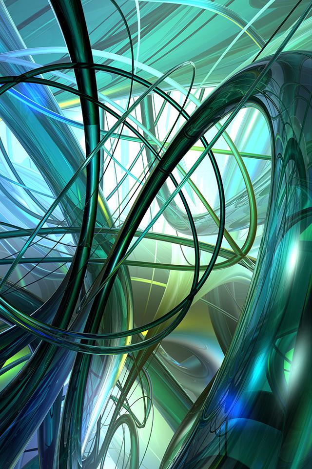 3D Web Wallpaper