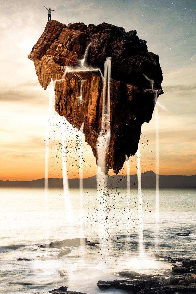 Surreal Landscape Iphone Wallpaper Hd