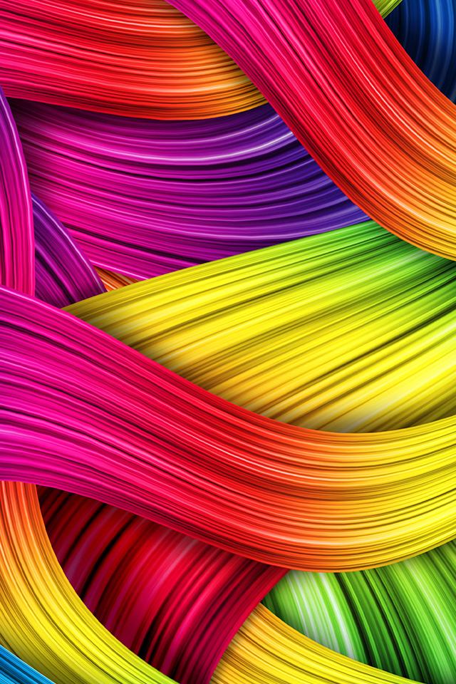 Threaded Lines Wallpaper