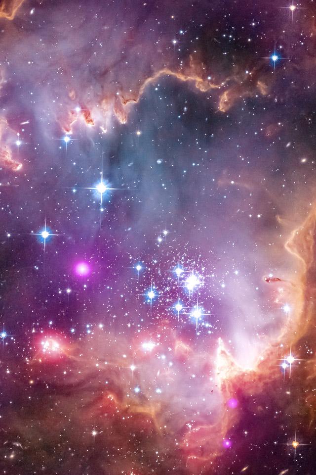 Magellanic Clouds Wallpaper