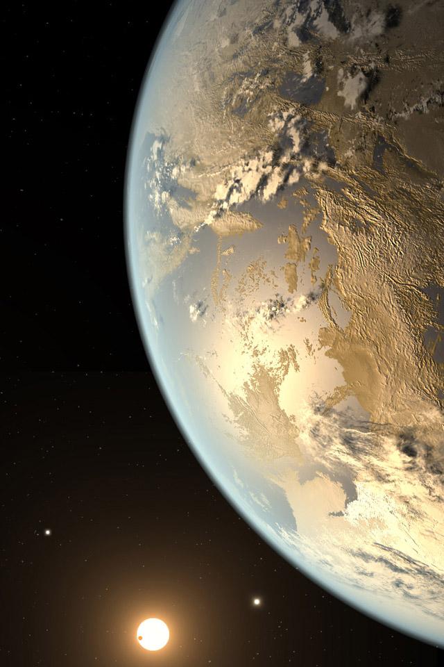 Kepler 186f Wallpaper