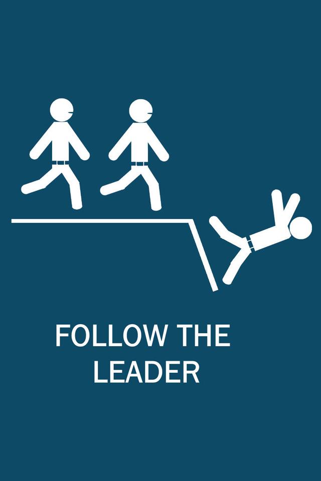 Follow the Leader Wallpaper