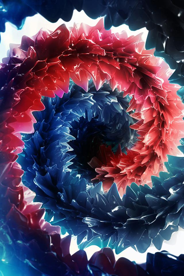 Curl n Swirl Wallpaper