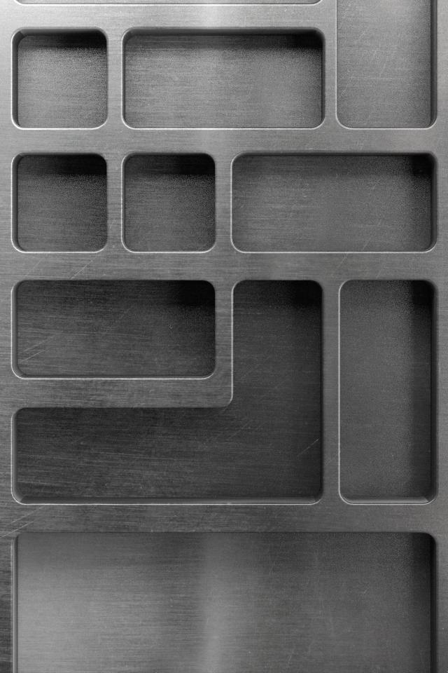 Stainless Shelf Wallpaper
