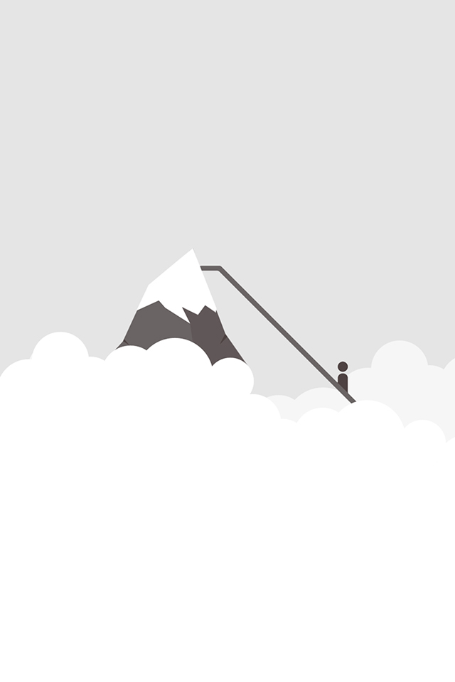 Minimal Everest Wallpaper