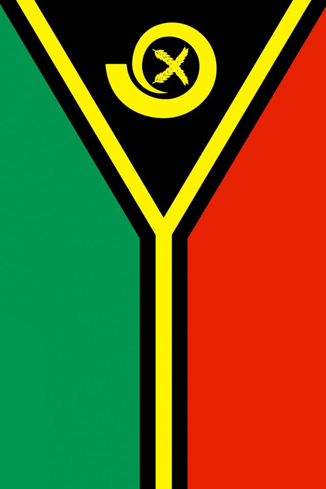 Vanuatu Flag Wallpaper