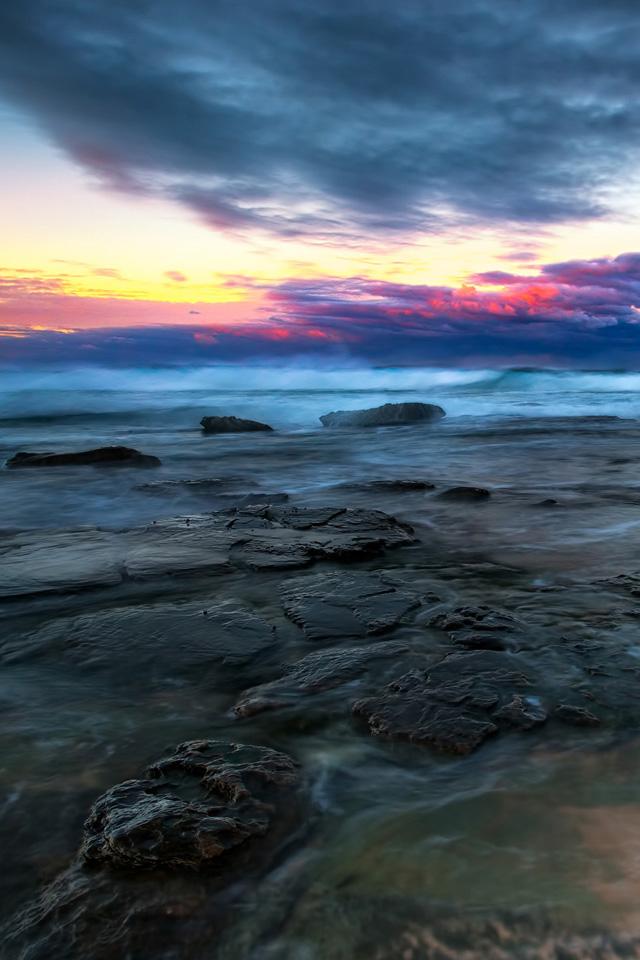 Sea Coast Wallpaper