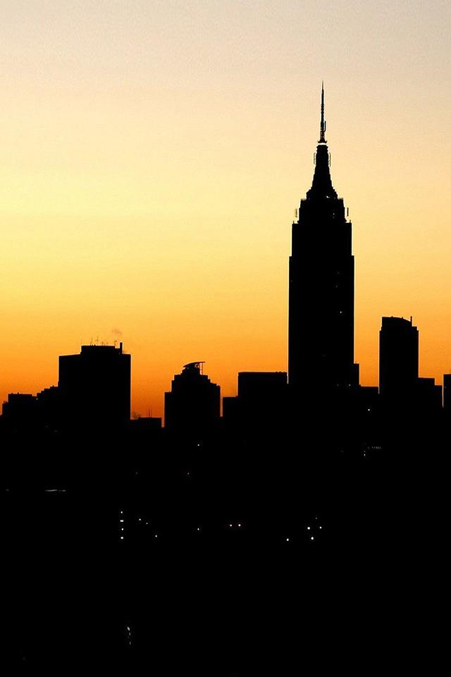 New York Sunset Wallpaper