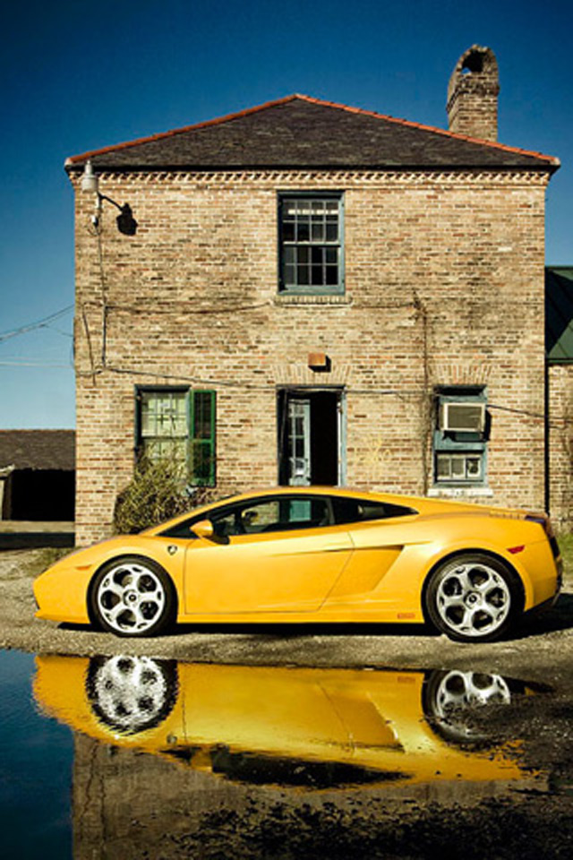 Yellow Lamborghini Wallpaper
