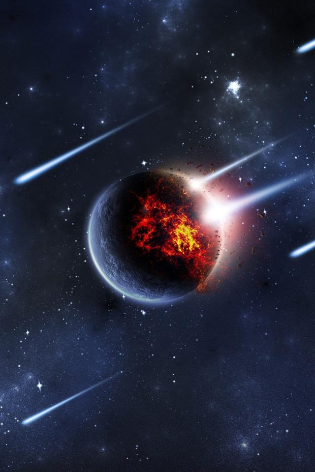 Meteor Strike Wallpaper