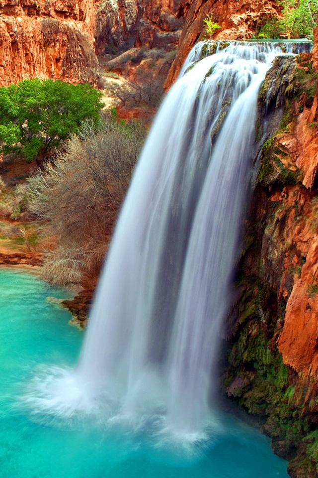 Arizona Waterfalls Wallpaper