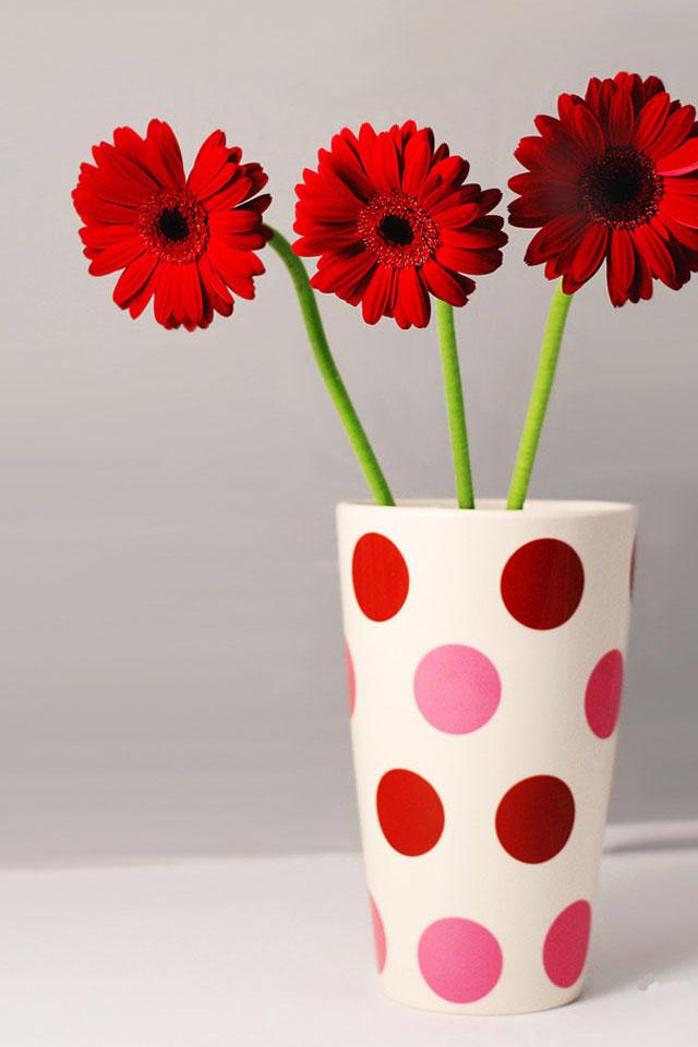 Vase Flowers Wallpaper