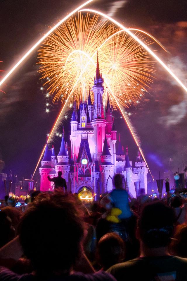 Disney Fireworks Wallpaper