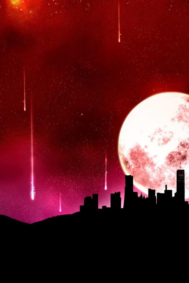 Red Night Wallpaper