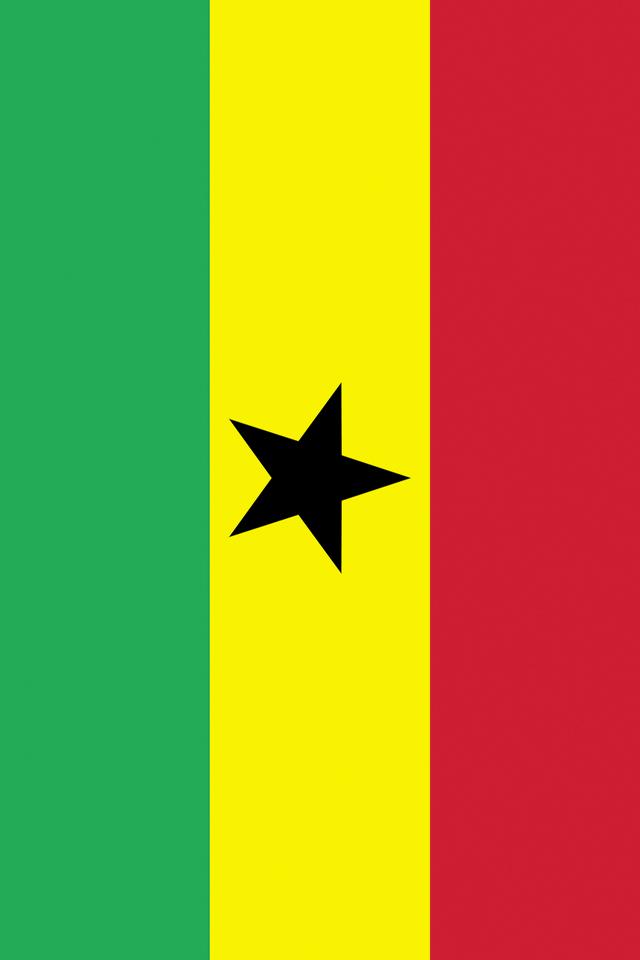 Ghana Flag Wallpaper