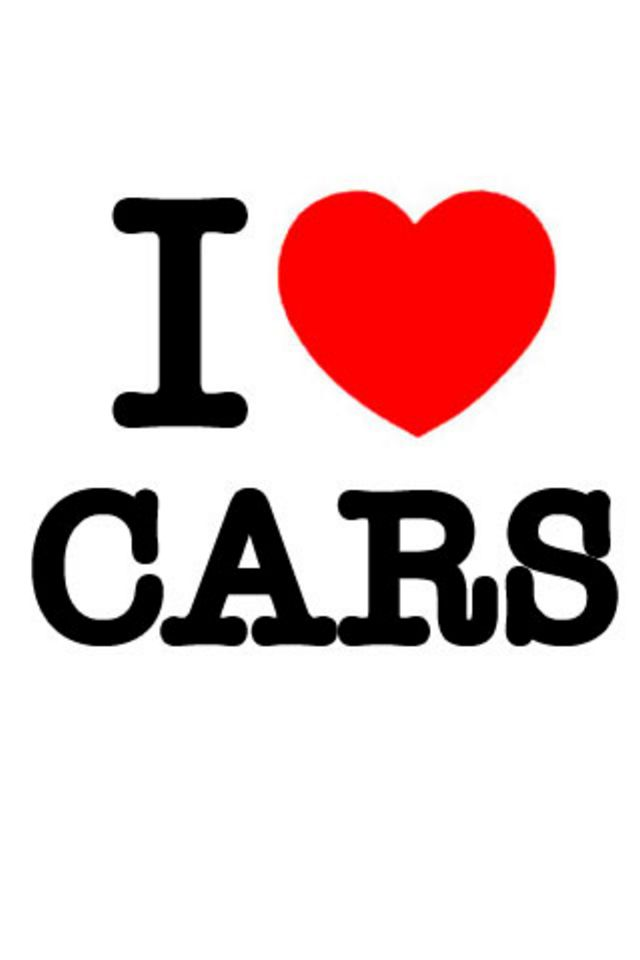 I Love Cars Wallpaper