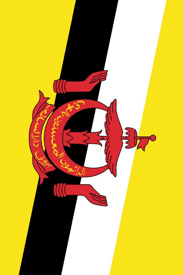 Brunei Flag Wallpaper
