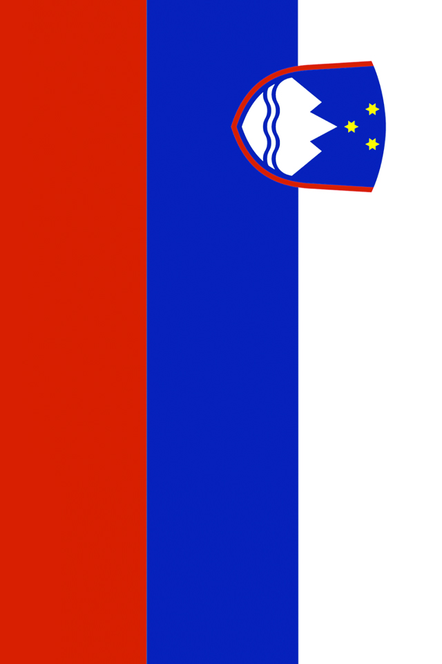 Slovenia Flag Wallpaper