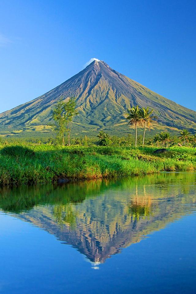 Mt Mayon Wallpaper